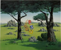 "Animation Art:Limited Edition Cel, ""In the Rough"" Limited Edition Hand-Painted Cel #67/100 OriginalArt (Walter Lantz Productions, 1992). This limited edition ...(Total: 2 Items)"