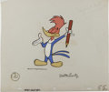 "Animation Art:Production Cel, ""The Woody Woodpecker Show"" Animation Production Cel and Clean-UpDrawing Original Art (Walter Lantz Productions, 1957). Han...(Total: 3 Items)"