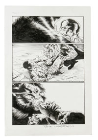 Bernie Wrightson and Jimmy Palmiotti - Nightmare Theater #1, page 7 Original Art (Chaos! Comics, 1997). Veteran horror i...