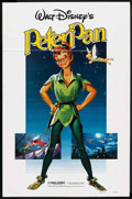 """Movie Posters:Animated, Peter Pan (Buena Vista, R-1982). One Sheet (27"""" X 41""""). Animated. ..."""