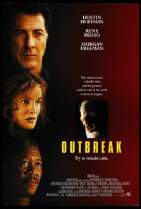"""Outbreak (Warner Brothers, 1995). One Sheet (27"""" X 41"""") DS. Science Fiction"""