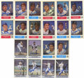 Autographs:Sports Cards, 1980's Autographed Baseball Trade Card Group Lot of 20. Plenty ofHOF talent is present on these sharpie signed trade cards ...