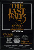 "Movie Posters:Rock and Roll, The Last Waltz (United Artists, 1978). One Sheet (27"" X 41""). Rockand Roll. ..."