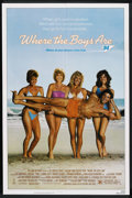 """Movie Posters:Comedy, Where the Boys Are (Tri Star Pictures, 1984). One Sheet (27"""" X 41""""). Comedy. ..."""