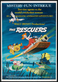 """Movie Posters:Animated, The Rescuers (Buena Vista, 1977). One Sheet (27"""" X 41""""). Animated...."""
