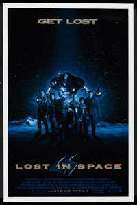 """Lost in Space (New Line, 1998). One Sheet (27"""" X 41"""") SS Advance. Science Fiction"""