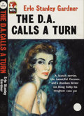 Illustration:Books, ENGLISH ILLUSTRATOR (20th Century) . The D.A. Calls a Turn .Gouache on board . 14 x 10in. . Not signed . The D.A. Cal...