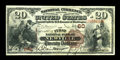 National Bank Notes:Pennsylvania, Newville, PA - $20 1882 Brown Back Fr. 493 The First NB Ch. # 60. ...