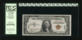 Small Size:World War II Emergency Notes, Fr. 2300 $1 1935A Hawaii Silver Certificate. PCGS Choice New 63PPQ.. ...