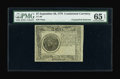 Colonial Notes:Continental Congress Issues, Continental Currency Blue Paper Counterfeit Detector September 26, 1778 $7 PMG Gem Uncirculated 65 EPQ....