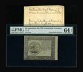 Colonial Notes:Continental Congress Issues, Continental Currency Blue Paper Counterfeit Detector September 26,1778 $5 PMG Choice Uncirculated 64 EPQ....