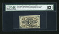 Fractional Currency:Third Issue, Fr. 1253 10c Third Issue PMG Choice Uncirculated 63 EPQ....