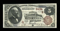 National Bank Notes:Arkansas, Fort Smith, AR - $5 1882 Brown Back Fr. 469 The American NB Ch. # (S)3634. ...