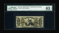 Fractional Currency:Third Issue, Fr. 1362 50c Third Issue Justice PMG Choice Uncirculated 63 EPQ....