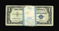 Small Size:Silver Certificates, Fr. 1619 $1 1957 Silver Certificates. Original Pack of 100. Crisp Uncirculated.. ... (Total: 100 notes)