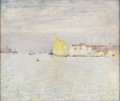 Fine Art - Painting, American:Modern  (1900 1949)  , EMIL CARLSEN (American 1853 - 1932). Venice. Canvas mountedon board. 20 x 25in.. Signed lower right. PROVENANCE:. Vin...