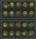 Civil War Patriotics, 20-Piece Lot of Patriotic & Merchant Tokens.... (Total: 20tokens)