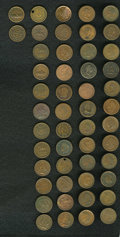 Civil War Patriotics, 50-Piece Civil War Patriotic Token Lot.... (Total: 50 tokens)