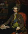 Paintings, SIR JOSHUA REYNOLDS, P.R.A. (English 1723 - 1792). Portrait of Henry Howard, 12th Earl of Suffolk and 5th Earl of Berkshir...