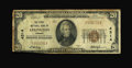 National Bank Notes:Virginia, Lexington, VA - $20 1929 Ty. 1 The First NB Ch. # 4314. ...