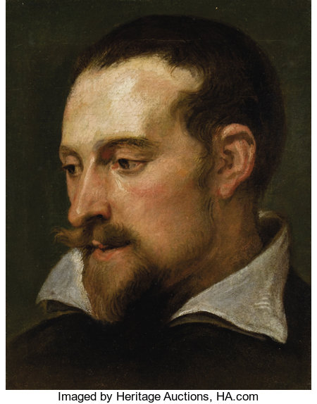 SIR ANTHONY VAN DYCK (Flemish 1599 - 1641)Portrait of a Man (Frans Snyders)Oil on canvas12 x 9-1/2 inchesPROVE...
