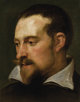 SIR ANTHONY VAN DYCK (Flemish 1599 - 1641) Portrait of a Man (Frans Snyders) Oil on canvas 12 x 9-1/2 inches  PROVE