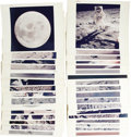 "Transportation:Space Exploration, Apollo 11, The First Moon Landing - Group of 33 Original NASA Photographs. ""That's one small step for a man, one giant leap ... (Total: 33 Item)"