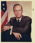 "Transportation:Space Exploration, Scott Carpenter NASA Color Photograph, 8"" x 10"". From thecollection of renowned former physical trainer of the astronauts...(Total: 1 Item)"