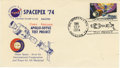 "Explorers:Space Exploration, Spacepex 74 Commemorative Cover, 6.5"" x 3.5"", with 10¢ Skylab stampaffixed, postmarked JSC-Spacepex Sta., Texas, September ... (Total:1 Item)"