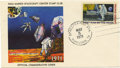 "Explorers:Space Exploration, Manned Flight 1971 Commemorative Cover, 6.5"" x 3.5"", with 10¢ FirstMan on the Moon stamp affixed, postmarked Spacepex-MSC S... (Total:1 Item)"