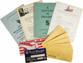 Transportation:Aviation, Clifford Henderson Business Correspondence Archive Circa 1930-1945.A massive collection of bank checks, business documents,... (Total:1 Item)