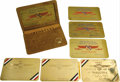 Transportation:Aviation, 1930 National Air Races and International Aircraft ExpositionPasses. A group of seven passes from the 1930 International Ai...(Total: 7 Item)