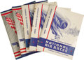 Transportation:Aviation, Lot of 1935 Cleveland National Air Races Programs. The lot includesthree copies of the schedule of events for the race, 8.7... (Total:3 Item)