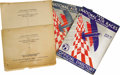 Transportation:Aviation, 1930 Chicago National Air Race Programs With Official Standing ofthe Contestants. This lot consists of two copies of the of...(Total: 4 Item)
