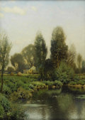 Fine Art - Painting, American:Antique  (Pre 1900), HENRY PEMBER SMITH (American 1854 - 1907). Springtime. Oilon canvas. 28 x 20 inches. Signed lower right. PROVENANCE:...