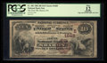 National Bank Notes:Pennsylvania, Sharon, PA - $10 1882 Brown Back Fr. 483 The First NB Ch. #(E)1685. ...