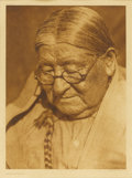 Fine Art - Painting, American:Modern  (1900 1949)  , EDWARD SHERIFF CURTIS (American 1868 - 1952). Henry Wichita.Photogravure. Plate 656. From copyrighted photo of 1927. 18...