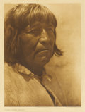 Fine Art - Painting, American:Modern  (1900 1949)  , EDWARD SHERIFF CURTIS (American 1868 - 1952). Lucero - SantoDomingo. Photogravure RPlate 557 R18 x 14 inches. PROVENA...