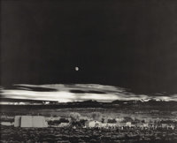 ANSEL ADAMS (American 1902 - 1984) Moonrise at Hernandez, New Mexico, 1941 Collotype, limited edition 37 x 46 inches&...