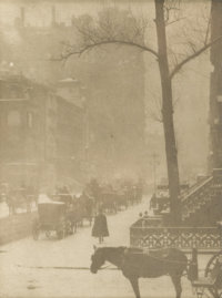 ALFRED STIEGLITZ (American 1864 - 1946)  for Camera Work Journal Photogravure on Japanese tissue Printed from origin