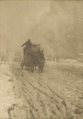 Photographs, ALFRED STIEGLITZ (American 1864 - 1946). for Camera Work Journal. Photogravure on Japanese tissue. Printed from origin...