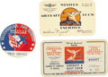 Transportation:Aviation, Lot of 11 1930s Air Show Passes. A diverse group of passes, re-admission tickets, and registration cards for various Golden ... (Total: 11 Item)
