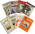 Transportation:Aviation, Group of Aviation Magazines Circa 1929-1937. A varied selection ofmagazines from aviation's Golden Age including: a July 19...(Total: 10 Item)