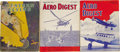 "Transportation:Aviation, Lot of Vintage Aviation Magazines. Ten magazines from the ""GoldenAge"" of aviation including a 1928 issue of Western Flyin...(Total: 10 Item)"