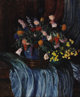 JOHN KOCH (American 1909 - 1978) Bouquet Still Life Oil on canvas 30-1/8 x 25 inches Signed lower right, John Koch
