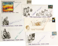 Transportation:Aviation, Aviatrix Bobbi Trout Signed First Day Covers. A lot of six coverscommemorating the 70th anniversary of American aviatrix Ev...(Total: 6 Item)