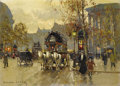Paintings, EDOUARD LEON CORTES (French 1882 - 1969). The Madeleine, 1905. Oil on linen. 13 x 18 inches. Signed lower left. Copyrigh...