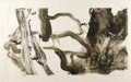 Prints:American, WILLEM DE KOONING (Dutch-born American 1904 - 1997). Untitled(Landing Place #2), 1970. Lithograph, drawn on transfer pa...