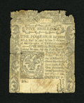 Colonial Notes:Connecticut, Connecticut June 19, 1776 5s Good, CC. This is only the second timethat this denomination from this issue has been in one o...