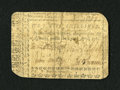 Colonial Notes:North Carolina, North Carolina April 23, 1761 5s Very Good. This interesting noteis backed with pieces of pages from books written in Germa...